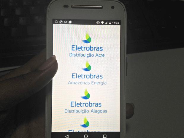 Aplicativo Eletrobras